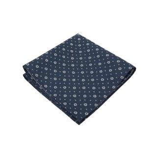 The Cool Blue Crisp Pocket Square