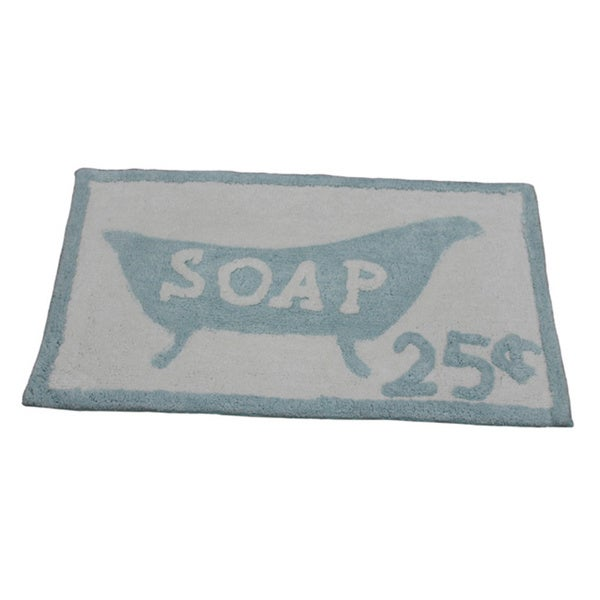 'Soap 25-Cents' Bath Rug (21 inches x 34 inches)