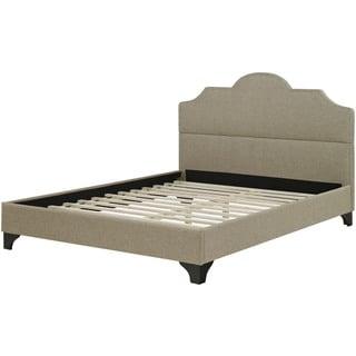Hanover Paris Linen Tufted Full Bed