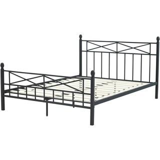 Hanover Uptown Metal Full Platform Bed