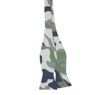 The Rambo Men's Camo-patterned Cotton Bow Tie