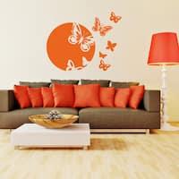 Spring Awakening vinyl wall decal, sticker, mural, art home decor