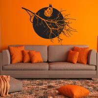 Full Moon Home Decor Wall Decal, Sticker, Mural Vinyl Art