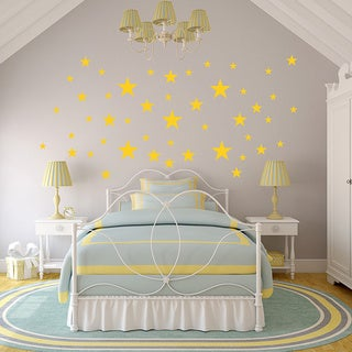 Starry Dome Wall Decal Sticker Mural Vinyl Art Set (More options available)