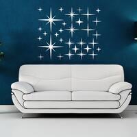 Starry Sky Set Wall Decal, Sticker, Mural Vinyl Art Home Decor