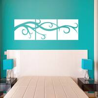 Vine Panels Wall Decal / Sticker Mural Vinyl Art