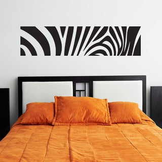 Zebra Print Wall Decal Sticker Vinyl Art