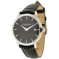 Raymond Weil Men's 5588-STC-20001 Toccata Black Leather Watch