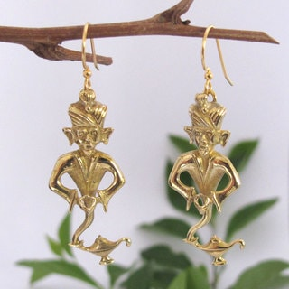 Spirit I Dream of Genie Tribal Fusion Earrings (Indonesia)