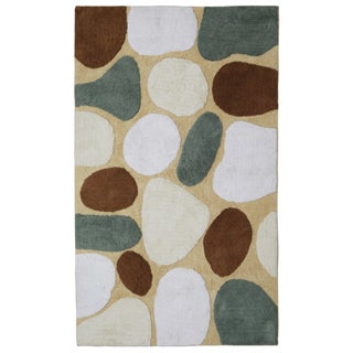 "Tan Pebble Beach Bath Rug (30""x50"")"