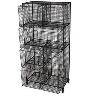Botana Wire Shelf With 6 Baskets
