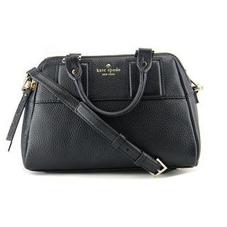Kate Spade Summit Court Mini Brantley Black Satchel Handbag