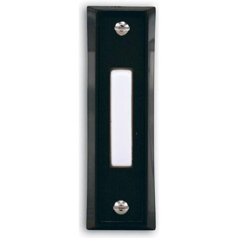 Heathco SL-664-02 Black Wired Doorbell