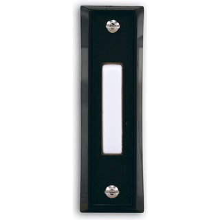 Heathco SL-664-02 Black Wired Doorbell
