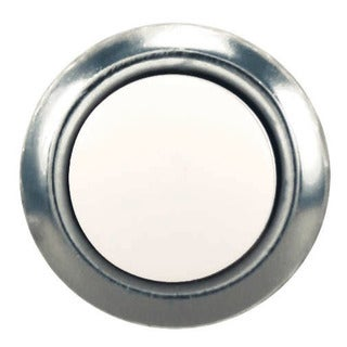 Heath Zenith Silver Wired Pushbutton Doorbell