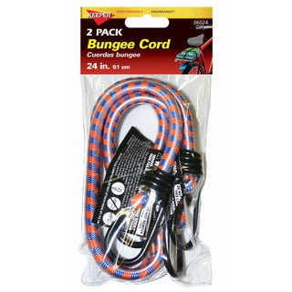 Keeper 06024 24-inch Bungee Stretch Cords (Set of 2)