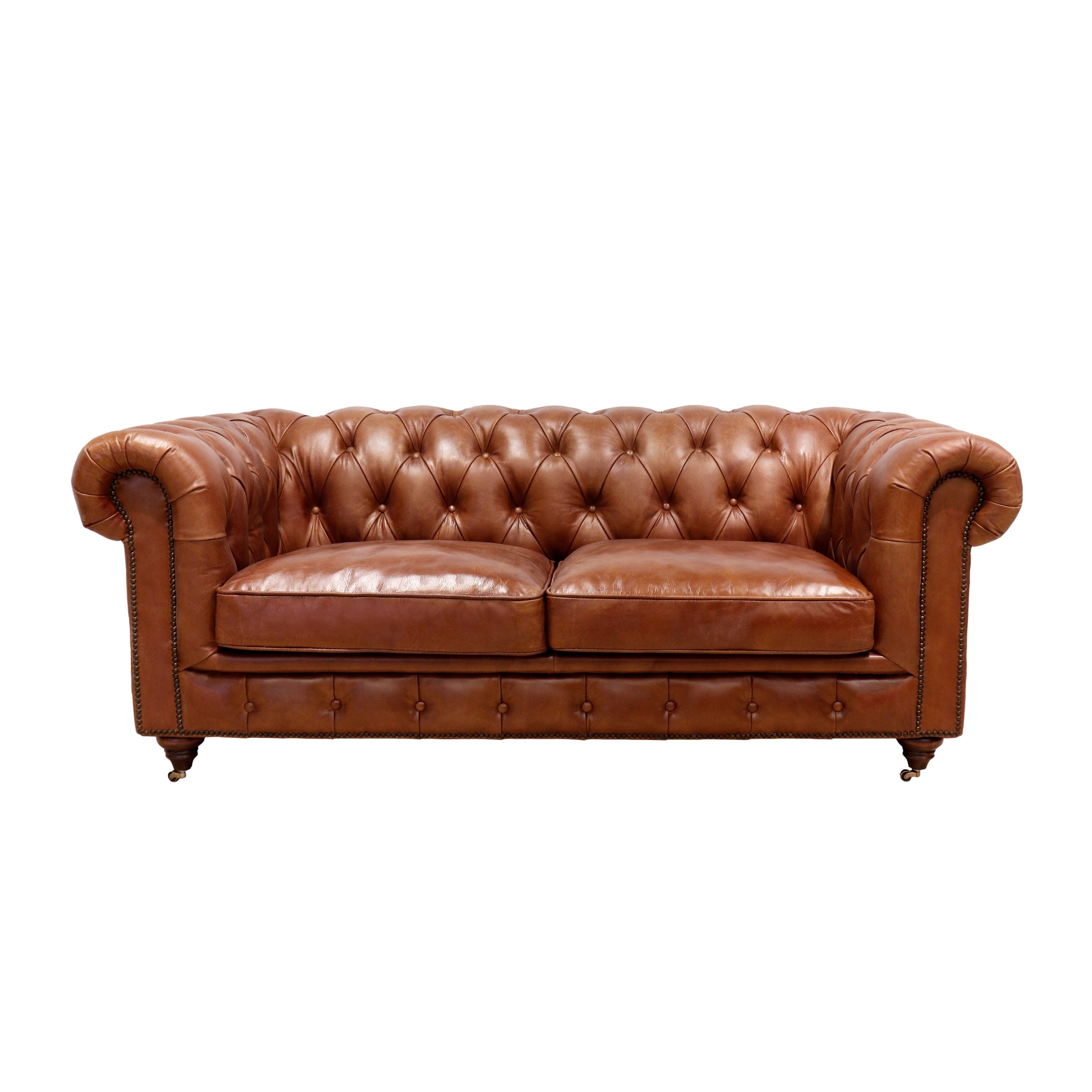 Buy Brown, Leather Sofas & Couches Online at Overstock | Our ...