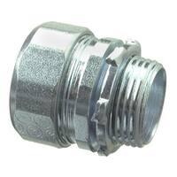 Halex 63515 1-1/2 in. Galvanized Steel Rigid Compression Connector