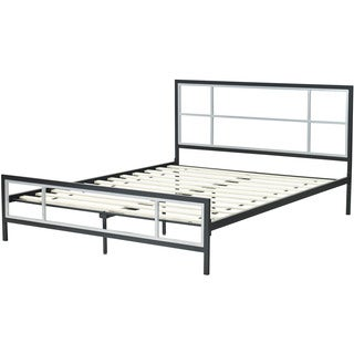 Hanover Lincoln Square Metal Queen Platform Bed