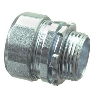 Halex 63520 2 in. Galvanized Steel Rigid Compression Connector