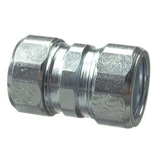 Halex 63612 1.25-inch Galvanized Steel Rigid Compression Coupling