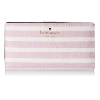 Kate Spade New York Fairmount Square Stacy Pink Blush/Cream Wallet