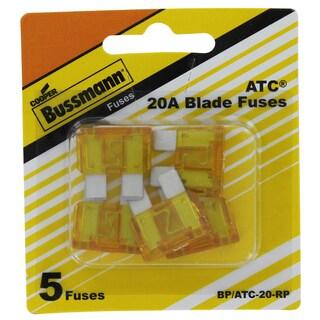 Bussman BP/ATC-20 RP 20 Amp Fuses 5-count