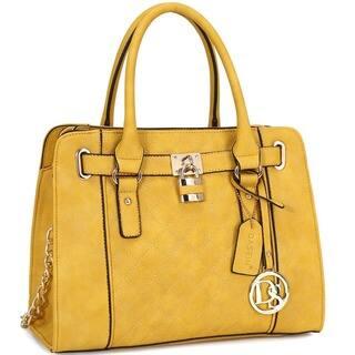Dasein Medium Satchel Handbag with Shoulder Strap|https://ak1.ostkcdn.com/images/products/11820644/P18726537.jpg?impolicy=medium