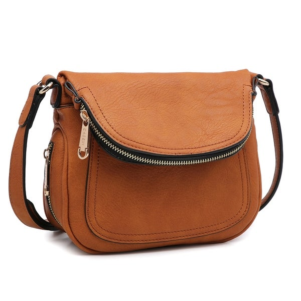 Dasein Front Flap Crossbody Bag