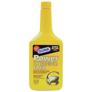 Gunk M2713 12 Oz Power Steering Fluid