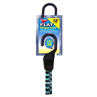 Keeper 06105 18-inch Flat Bungee Cord