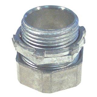 Halex 90211 0.5-inch EMT Compression Connector
