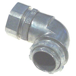 "Halex 90292 3/4"" EMT 90° Compression Connector"