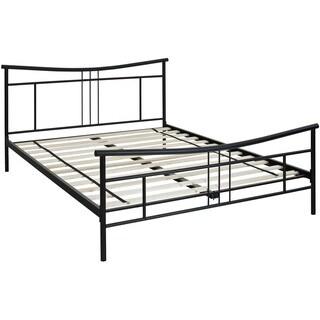 Hanover Chelsea Black Metal Queen Bed