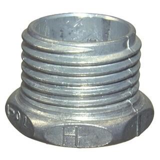 Halex 90701 0.5-inch Zinc Conduit Chase Nipple