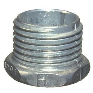 Halex 90703 1-inch Zinc Conduit Chase Nipple