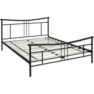 Hanover Chelsea Black Metal Twin Bed