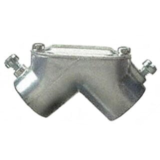 Halex 94410 EMT-To-EMT Pull Elbow with Gasket