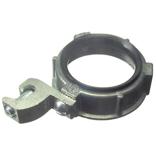 "Halex 99526 2"" Zinc Insulated Metallic Grounding Bushing With Lug"