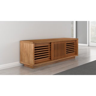 64-inch Contemporary Rustic Media Console