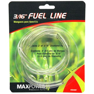 Maxpower 334287 3/16-inch X 2' Clear Fuel Line
