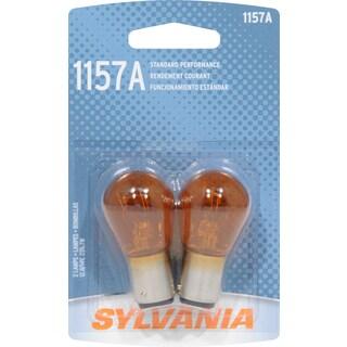 Sylvania 1157ABP Amber Double Filament Bayonet Mini Incandescent Bulb (Set of 2)
