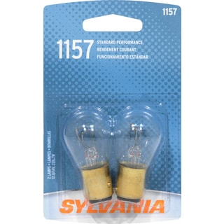 Sylvania 1157BP Clear Double Filament Bayonet Mini Incandescent Bulb 2 Ct