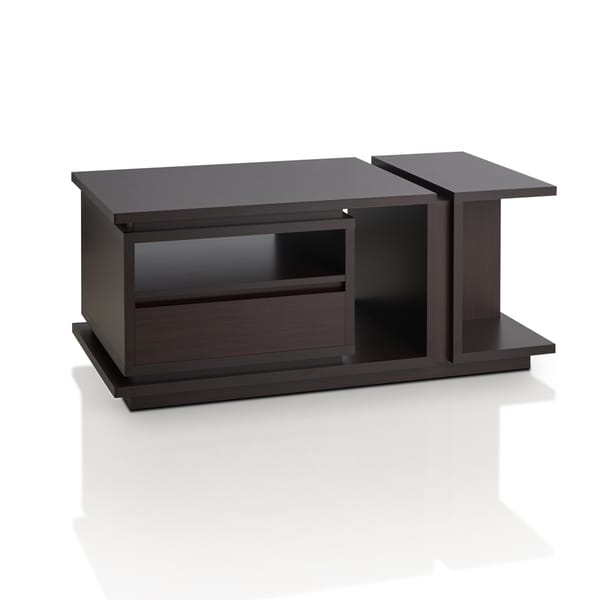 Furniture Of America Emi Modern Walnut Coffee Table Free Shipping Today 18726681