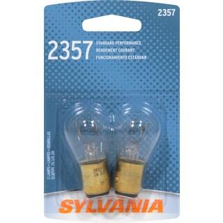 Sylvania 2357BP Clear Double Filament S-8 Bayonet Bulb (Set of 2)