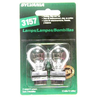 Sylvania 3157BP 3157 Park, Stop and Tail Lamps (Set of 2)