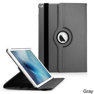 Gearonic 360 Rotating PU Leather smart Function stand case for iPad Pro