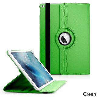 Gearonic 360 Rotating PU Leather smart Function stand case for iPad Pro (Option: Green)