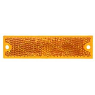 PM V487A 2-count Amber Rectangular Reflector