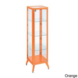 Furniture of America Linden Modern 4-shelf Metal Cabinet